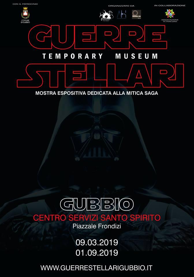guerre stellari temporary museum gubbio 2019