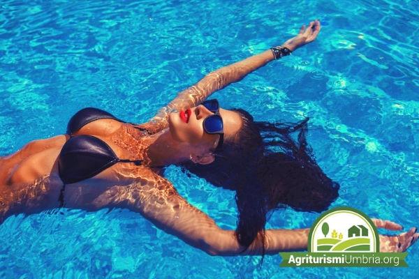 agriturismo con piscina in Umbria - vacanze e relax