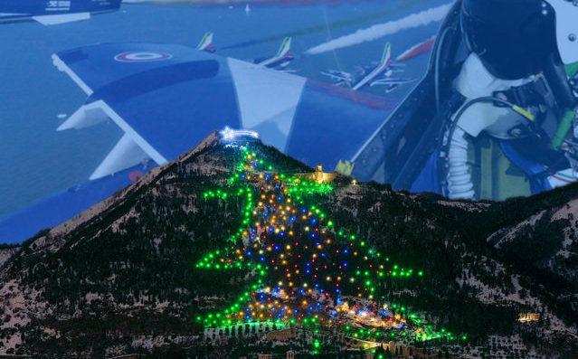 Capodanno, Epifania e Natale in agriturismo a Gubbio - albero di Natale più grande del mondo