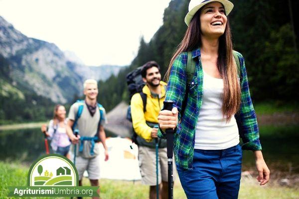 trekking - agriturismi Umbria