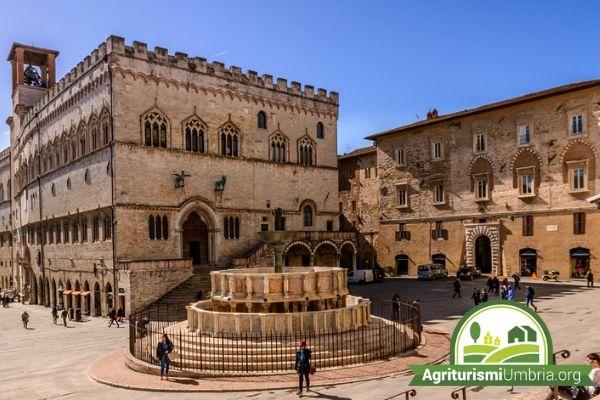 vacanza in Umbria - visita guidata alla città di Perugia