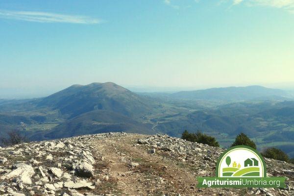 trekking Monte Acuto - agriturismo Umbertide