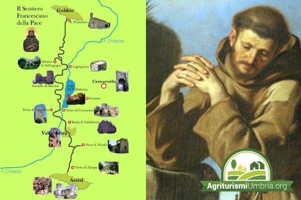 Escursione a cavallo, in mtb o a piedi sul Sentiero Francescano della Pace - Valfabbrica