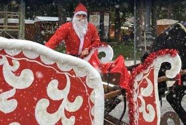 Slitta di Babbo Natale - agriturismi Umbria Gubbio